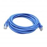Ghia Cable Patch Cat5e UTP, RJ-45 Macho - RJ-45 Macho, 3 Metros, Azul