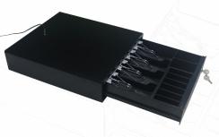 Cajón de Dinero Ghia GCD481 con Llave, 4Kg, Negro