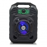 Ghia Bafle GSP-005, Bluetooth, Inalámbrico, 2000W RMS, USB, Negro
