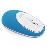 Mouse Ghia GT100AB, RF Inalámbrico, 1000DPI, Azul/Blanco