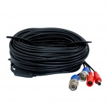 Ghia Cable de Video BNC, 18 Metros, Negro