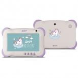 Tablet Ghia Axis Kids 7'', 8GB, 1024 x 600 Pixeles, Android 7.1, WLAN, Violeta/Blanco