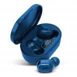 Ghia Audífonos Intrauriculares TWS-1A, Inalámbrico, Bluetooth, Azul