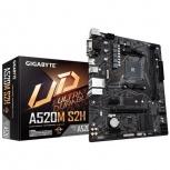 Tarjeta Madre Gigabyte micro ATX A520M S2H, S-AM4, AMD A520, HDMI, 64GB DDR4 para AMD