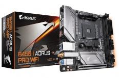 Tarjeta Madre Gigabyte mini ITX B450 I AORUS PRO WIFI, S-AM4, AMD B450, HDMI, 32GB DDR4 para AMD