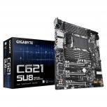 Tarjeta Madre para Servidor Gigabyte ATX C621-SU8, S-3647, Intel C621, 1TB DDR4 para Intel