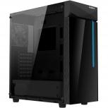 Gabinete Gigabyte C200 con Ventana RGB, Midi-Tower, ATX/Micro-ATX/Mini-ITX, sin Fuente, USB 3.1, Negro