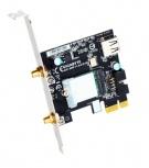 Gigabyte Tarjeta de Red GC-WB11ACD-I, 433 Mbit/s, WLAN/Bluetooth, 2 Antenas