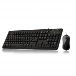 Kit de Teclado y Mouse Gigabyte GK-KM3100, Alámbrico, USB, Negro (Inglés)
