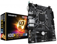 Tarjeta Madre Gigabyte Micro ATX H310M S2 2.0, S-1151, Intel H310, 32GB DDR4 para Intel ― Compatibles solo con 8va & 9va Generación