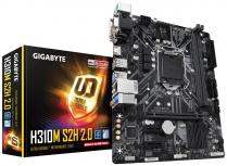 Tarjeta Madre Gigabyte Micro ATX H310M S2H 2.0, S-1151, Intel H310 Express, HDMI, M.2, 32GB DDR4 para Intel ― Compatibles solo con 8va & 9va Generación