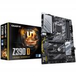Tarjeta Madre Gigabyte ATX Z390 D, S-1151, Intel Z390 Express, HDMI, 128GB DDR4 para Intel ― Compatibles solo con 8va y/o  9va Generación (Revisar modelos aplicables)