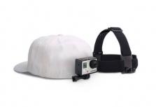 GoPro Head Strap + QuickClip, Negro