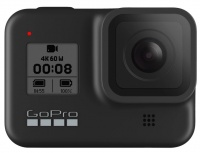 Cámara Deportiva GoPro Hero 8 Black, 12MP, 4K Ultra HD, MicroSD, Negro