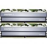 Kit Memoria RAM G.Skill Sniper X DDR4, 2400MHz, 16GB, (2x 8GB), Non-ECC, CL17, XMP