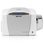 HID Fargo C50 Impresora de Credenciales, Sublimación, 300 x 300 DPI, USB, Gris/Blanco
