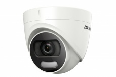 Hikvision Cámara CCTV Domo IR para Exteriores DS-2CE72DFT-F, Alámbrico, 1920 x 1080 Pixeles, Día/Noche