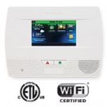 Honeywell Panel de Control LYNX Touch 5210 de 63 Zonas, Inalámbrico, Wifi, Blanco