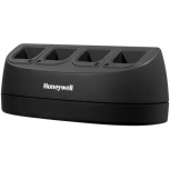 Honeywell Cargador de 4 Baterías MB4-BAT-SCN01NAD0, Negro