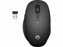 Mouse HP Dual Mode, RF Inalámbrico, Negro