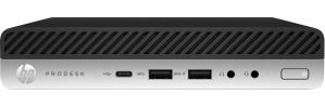 Mini PC HP ProDesk 600 G5, Intel Core i7-9700T 2GHz, 8GB, 512GB SSD, Windows 10 Pro 64-bit ― incluye Mouse y Teclado
