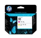 Cabezal HP 91 Magenta/Amarillo