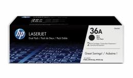Tóner HP 36A Paquete Doble Negro, 2x 2000 Páginas ― ¡Compre y reciba 5% del valor de este producto en saldo para su siguiente pedido!