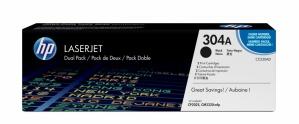 Tóner HP 304A Paquete Doble Negro, 2x 3500 Páginas ― ¡Compre y reciba $195 pesos de saldo para su siguiente pedido!