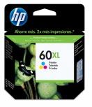 Cartucho HP 60XL Tricolor, 440 Páginas ― ¡Compre y reciba 6% del valor de este producto en saldo para su siguiente pedido!
