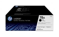 Tóner HP 78A Paquete Doble Negro, 2 x 2100 Páginas ― ¡Compre y reciba 5% del valor de este producto en saldo para su siguiente pedido!