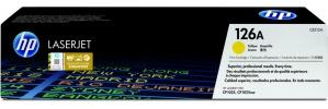 Tóner HP 126A Amarillo, 1000 Páginas ― ¡Compre y reciba 5% del valor de este producto en saldo para su siguiente pedido!