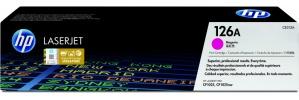 Tóner HP 126A Magenta, 1000 Páginas ― ¡Compre y reciba 5% del valor de este producto en saldo para su siguiente pedido!