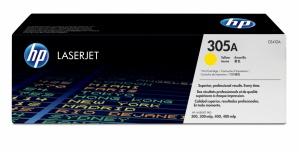 Tóner HP 305A Amarillo, 2600 Páginas ― ¡Compre y reciba 5% del valor de este producto en saldo para su siguiente pedido!