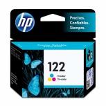Cartucho HP 122 Tricolor, 100 Páginas ― ¡Compre y reciba $25 pesos de saldo para su siguiente pedido!
