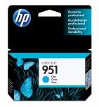 Cartucho HP 951 Cyan, 700 Páginas ― ¡Compre y reciba 6% del valor de este producto en saldo para su siguiente pedido!