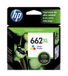 Cartucho HP 662XL Tricolor, 300 Páginas ― ¡Compre y reciba 6% del valor de este producto en saldo para su siguiente pedido!