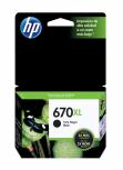 Cartucho HP 670XL Negro, 550 Páginas ― ¡Compre y reciba 6% del valor de este producto en saldo para su siguiente pedido!
