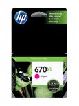 Cartucho HP 670XL Magenta, 750 Páginas ― ¡Compre y reciba 6% del valor de este producto en saldo para su siguiente pedido!