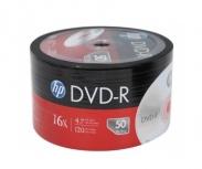 HP Torre de Discos Virgenes para DVD, DVD-R, 4.7GB, 16x, 50 Piezas