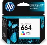 Cartucho HP 664 Tricolor, 100 Páginas ― ¡Compre y reciba 6% del valor de este producto en saldo para su siguiente pedido!