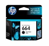 Cartucho HP 664 Negro, 120 Páginas ― ¡Compre y reciba 6% del valor de este producto en saldo para su siguiente pedido!