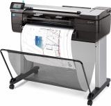 Plotter HP Designjet T830 24'', Color, Inyección, Print ― Requiere Care pack de Instalación UC744E por parte de la marca, consulte a su ejecutivo.