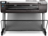 Plotter HP DesignJet T830 36'', Color, Inyección, Inalámbrico, Print/Scan/Copy ― Incluye Smart TV Ghia 39