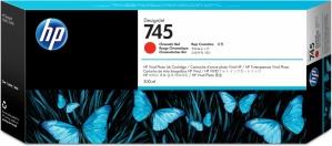 Cartucho HP 745 Rojo Cromático 300ml