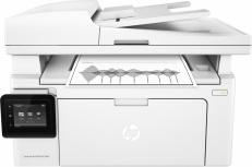 Multifuncional HP LaserJet Pro MFP M130fw, Blanco y Negro, Laser, Inalámbrico (con Adaptador), Print/Scan/Copy/Fax