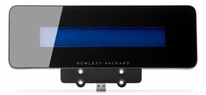 HP Pantalla POS Pole G6U79AA, USB, Negro