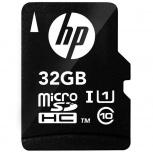 Memoria Flash HP HFUD032-1U1, 32GB MicroSD UHS-I Clase 10, con Adaptador