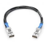 HPE Cable Stack, Macho/Macho, 50cm, Negro