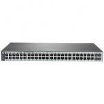 Switch HPE Gigabit Ethernet 1820, 48 Puertos 10/100/1000Mbps + 4 Puertos SFP, 104 Gbit/s, 16.000 Entradas - Gestionado