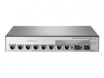 Switch HPE Gigabit Ethernet OfficeConnect 1850, 6 Puertos 10/100/1000Mbps + 2 Puertos SFP+, 160 Gbit/s, 16.000 Entradas - Gestionado